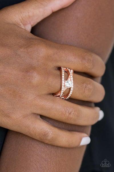 Prepare To Be Dazzled! - Copper Ring