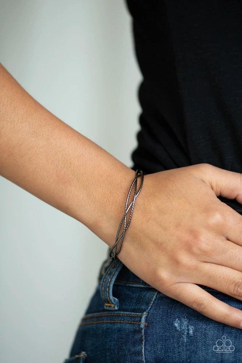 Twist Of The Wrist - Gunmetal Cuff