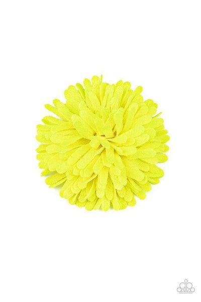 Neon Garden - Yellow Hair Clip