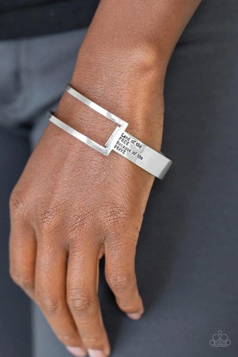 America the Brave - Silver Cuff