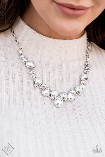 I Want It All - White Necklace - July 2020 Fashion Fix