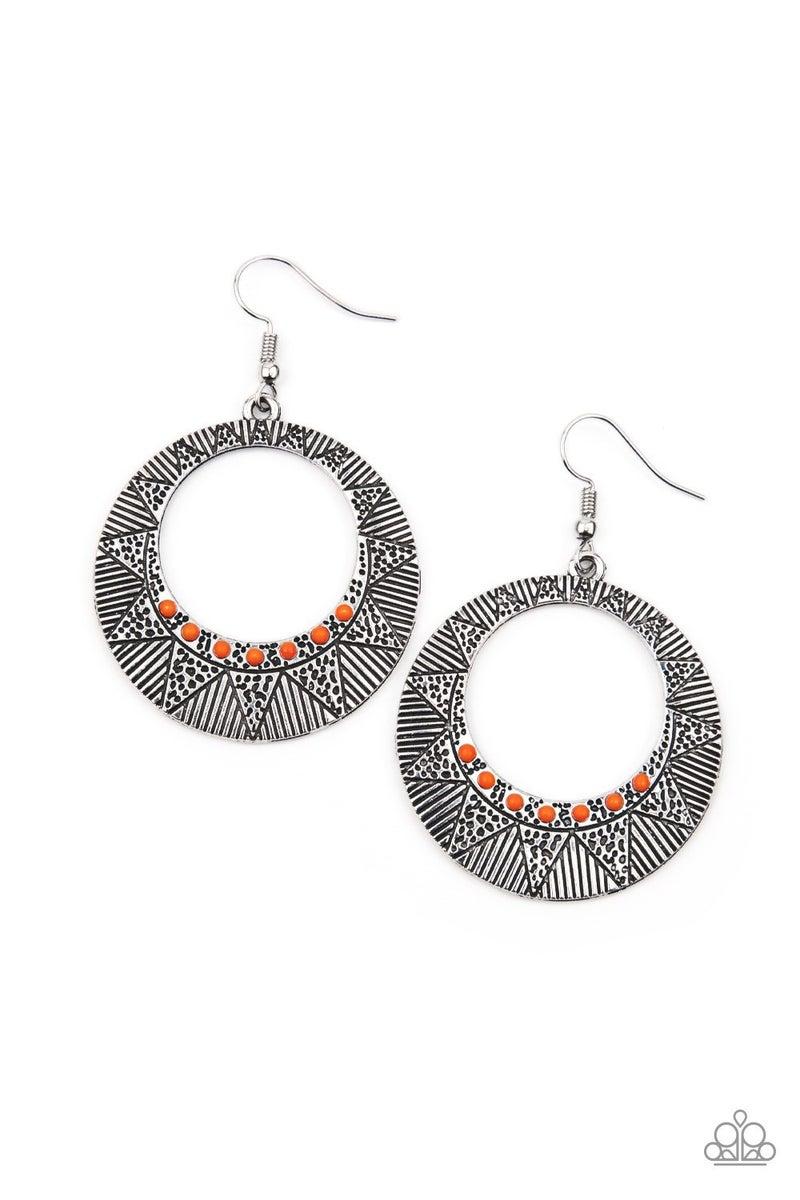 Adobe Dusk - Orange Earrings