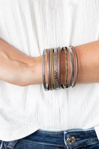 Relics On Repeat - Multi Bangle Bracelet