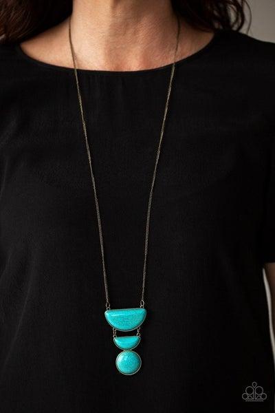 Desert Mason - Brass Necklace