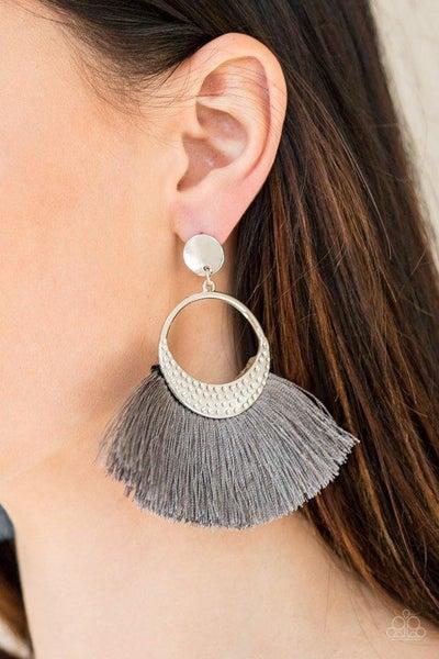 Spartan Spirit - Silver Earrings