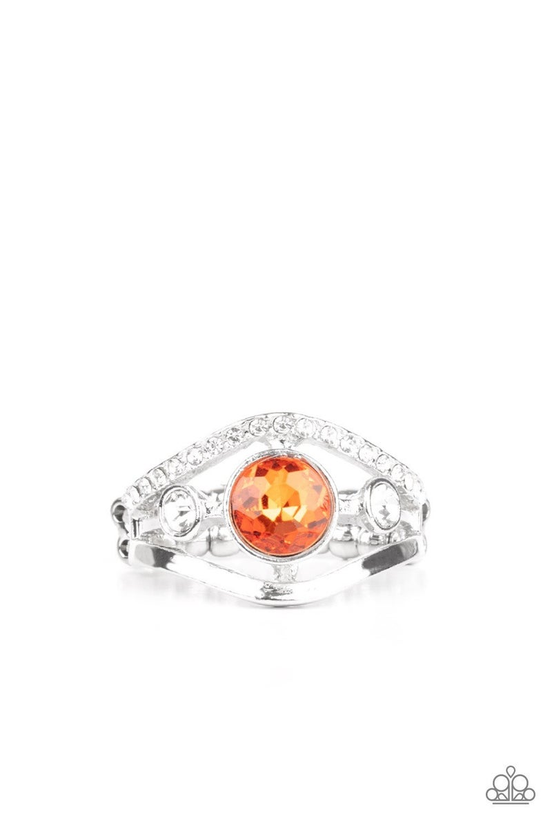 Rich With Richness - Orange Ring