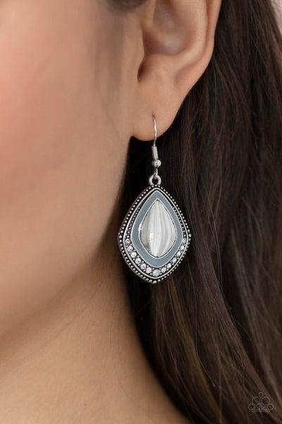 Fearlessly Feminine - Silver Earrings