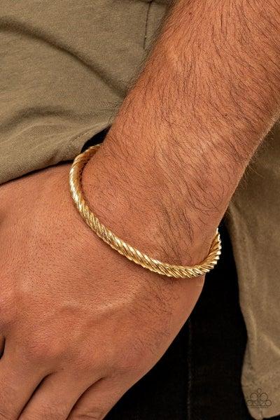 Mach Speed - Gold Men's Cuff