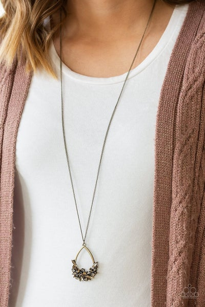 Couture Crash Course - Brass Necklace