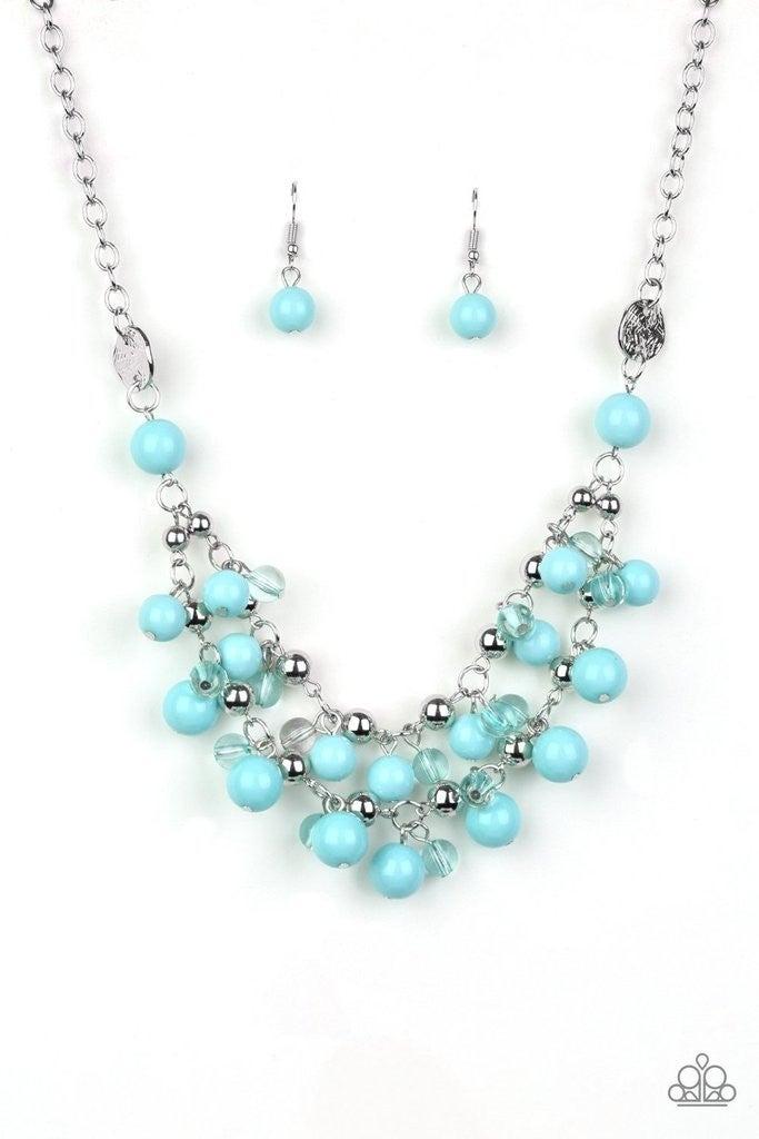 Seaside Soiree - Blue Necklace