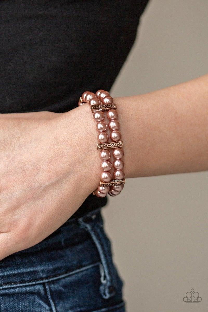 Modern Day Mariner - Copper Stretchy Bracelet