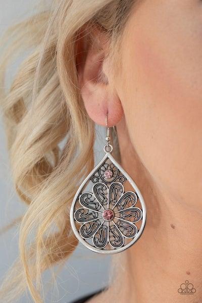 Whimsy Dreams - Pink Earrings