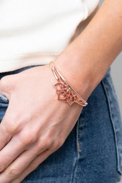 Mandala Mindfulness - Copper Cuff