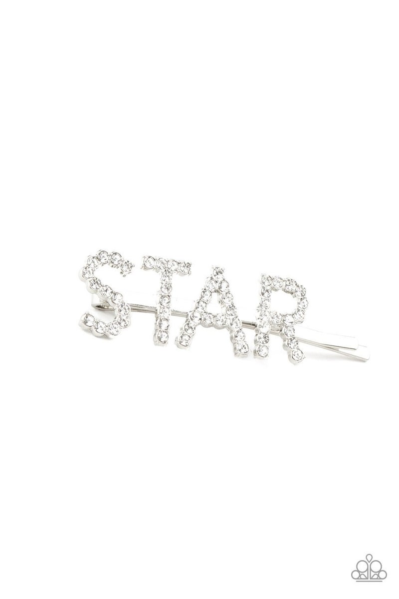 Star In Your Own Show - Silver Hair Clip