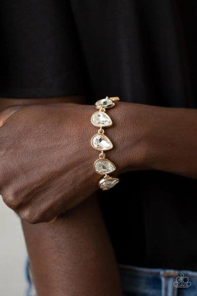 Free Reign - Gold Clasp Bracelet