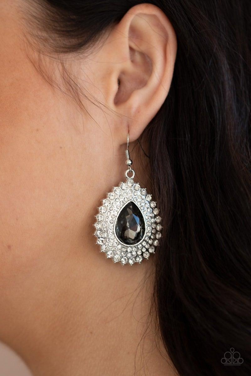 Exquisitely Explosive - Silver Earrings
