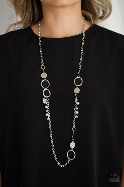 Unapologetic Flirt - Silver Necklace