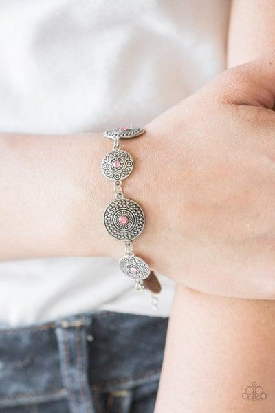 Malibu Magic - Pink Clasp Bracelet