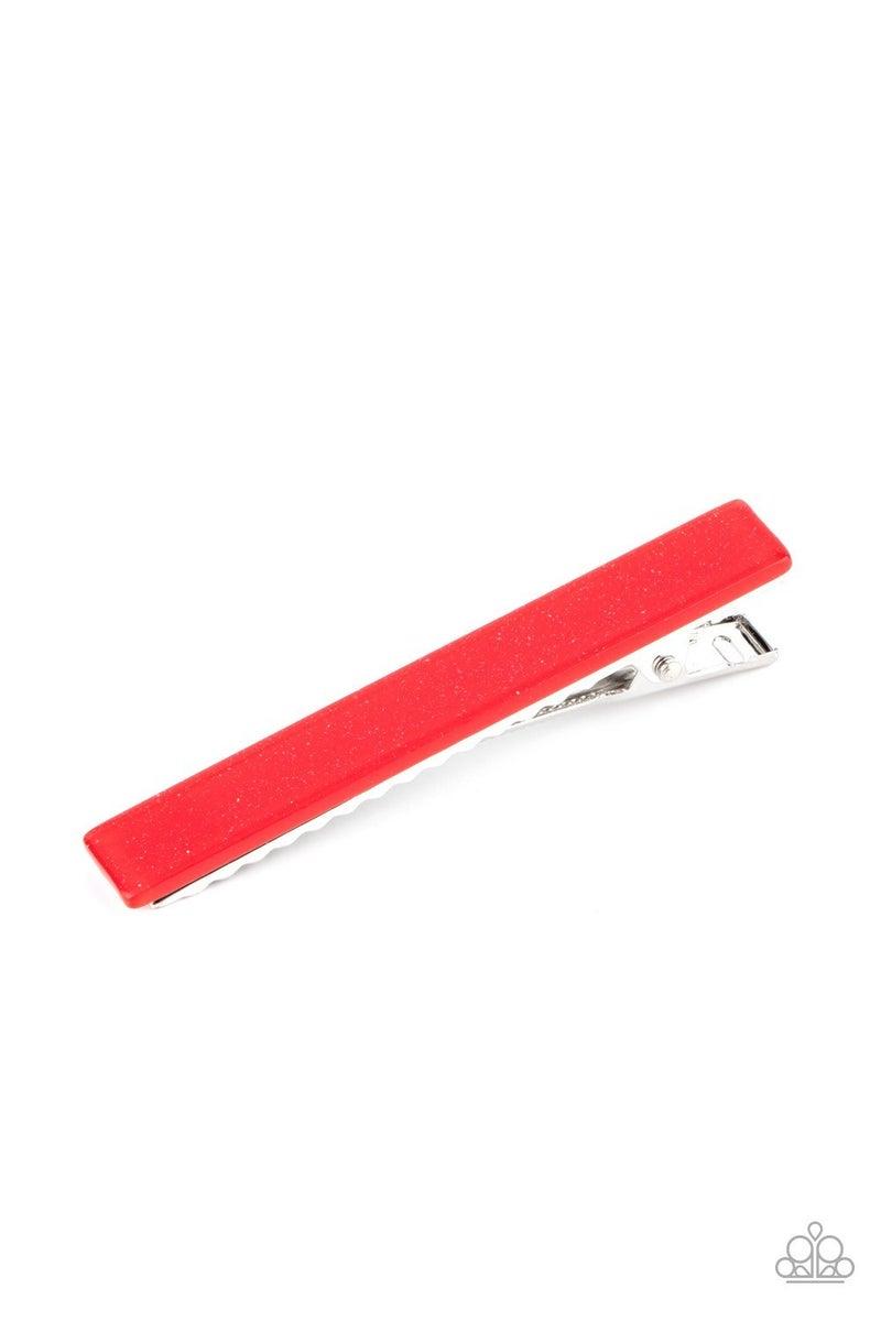 Prettiest Patriot - Red Hair Clip