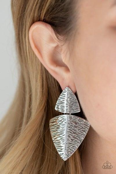 PRIMAL Factors - Silver Earrings