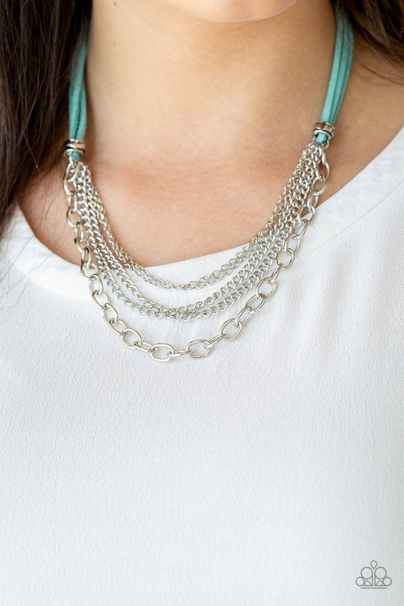Free Roamer - Blue Necklace