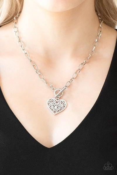 Victorian Romance - Silver Necklace