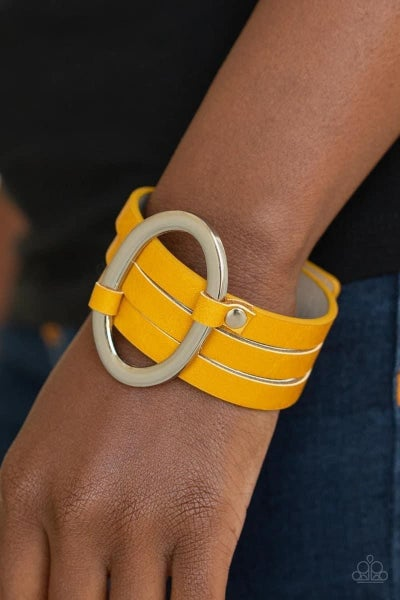 Cowgirl Cavalier - Yellow Snap Wrap