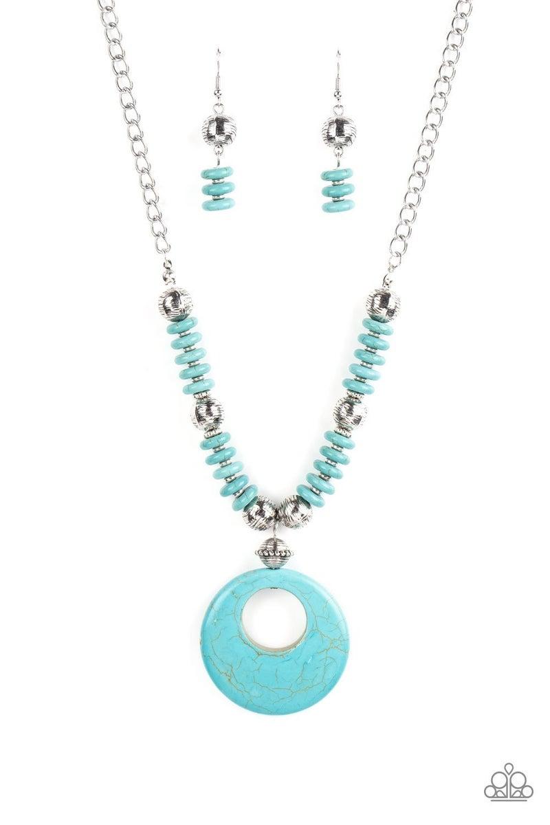 Oasis Goddess - Blue Necklace