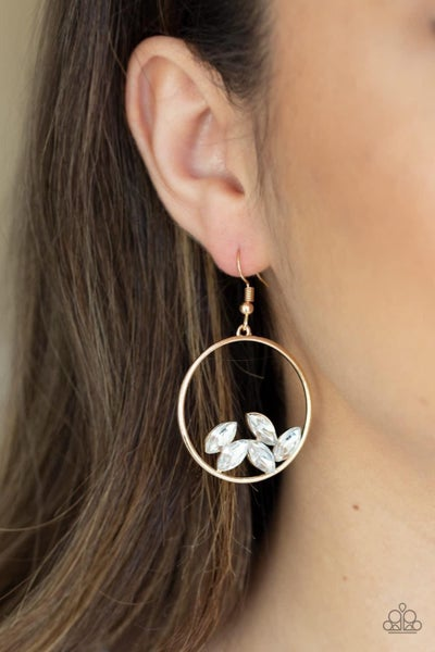 Cue The Confetti - Gold Earrings