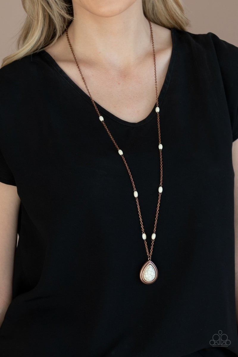 Go Tell It On The MESA - Copper Necklace