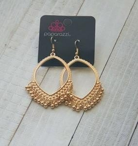Heirloom Harmony - Gold Earrings