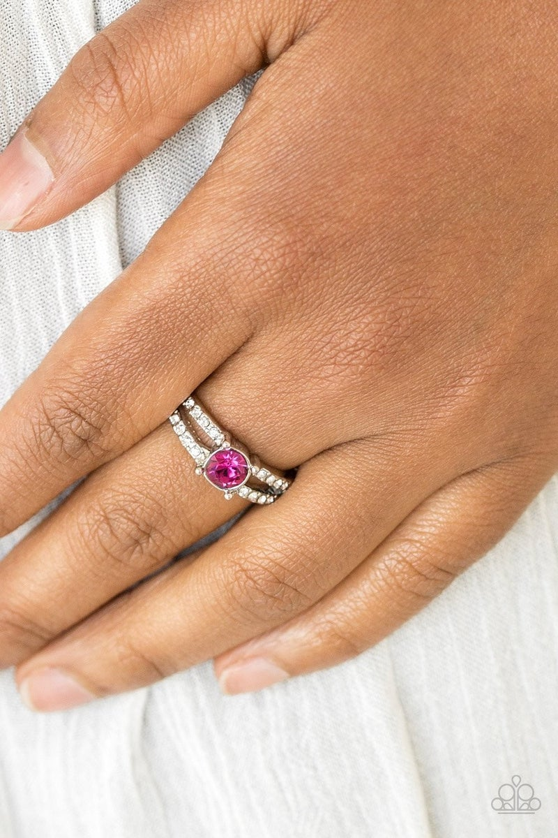 Dream Sparkle - Pink Ring