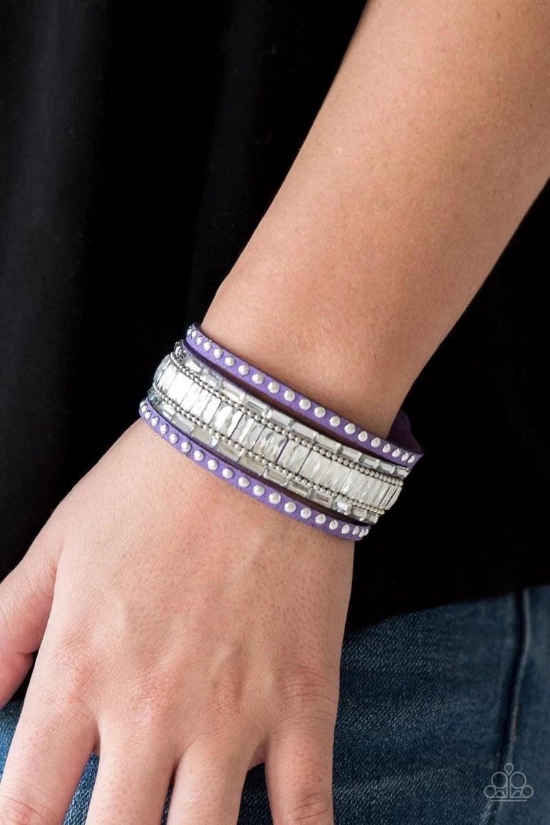 Rock Star Rocker - Purple Snap Wrap