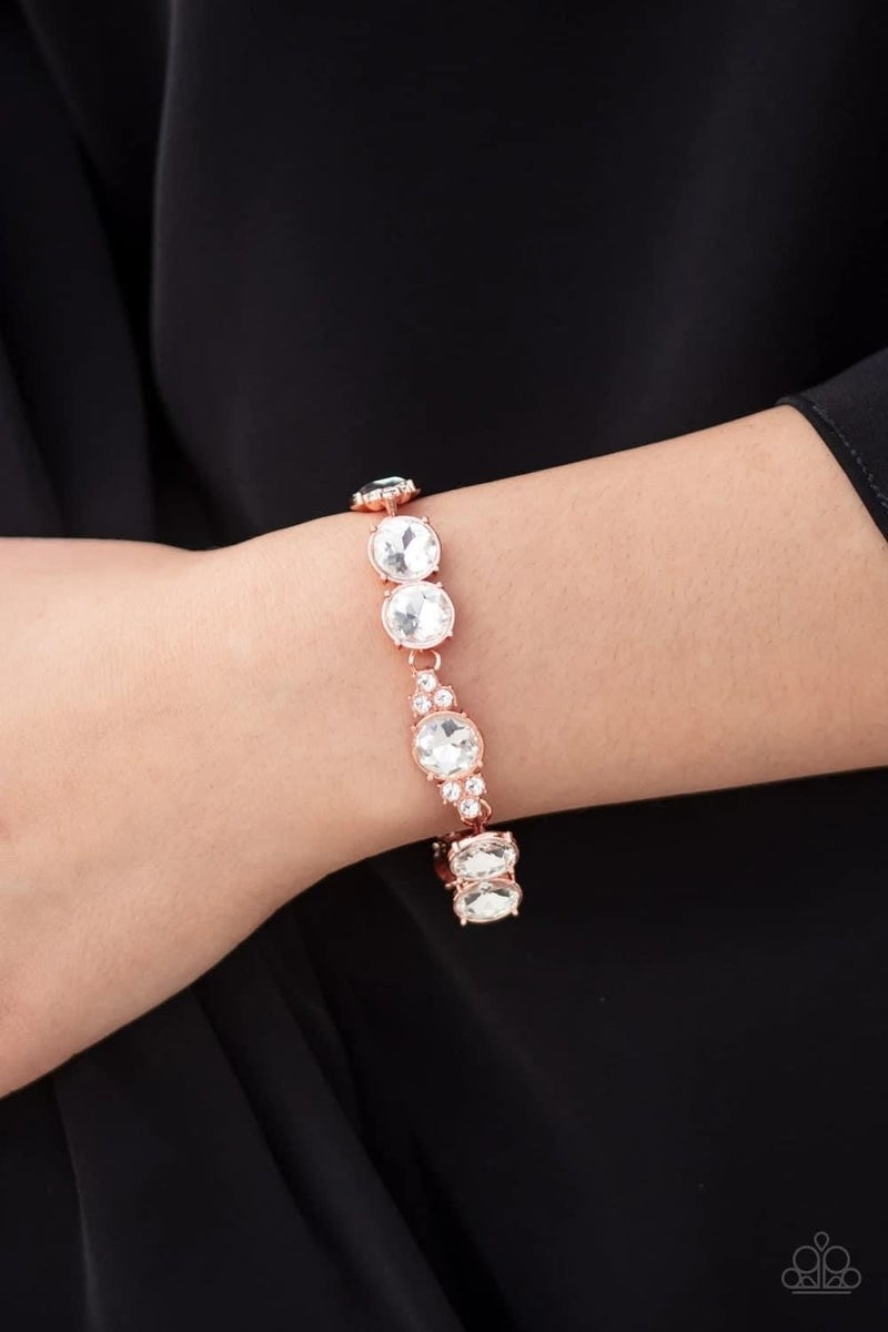 Care To Make A Wager? - Copper Clasp Bracelet