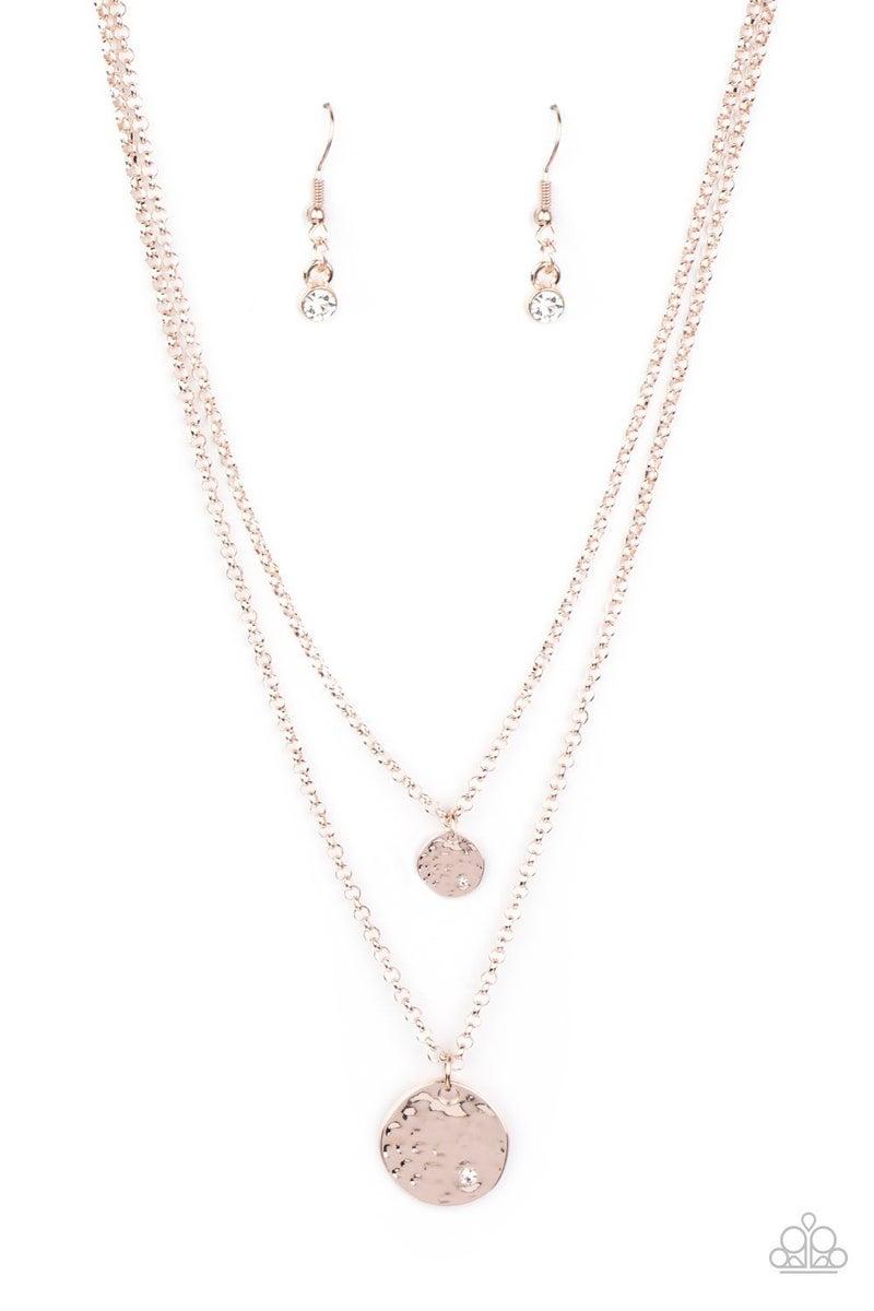 Modern Minimalist - Rose Gold Necklace
