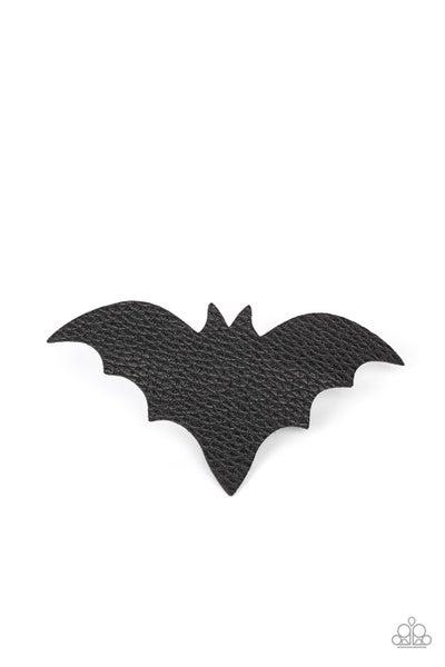 BAT to the Bone - Black Hair Clip