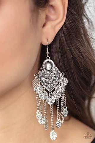 Garden Explorer - Silver Earrings