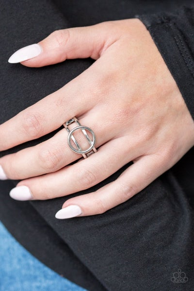 City Center Chic - Silver Ring