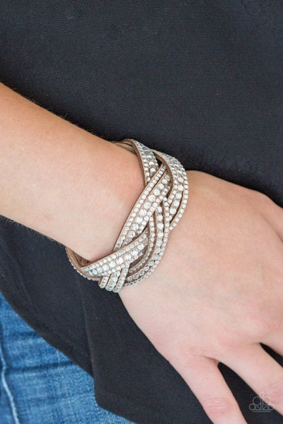 Bring On The Bling - Brown Snap Wrap