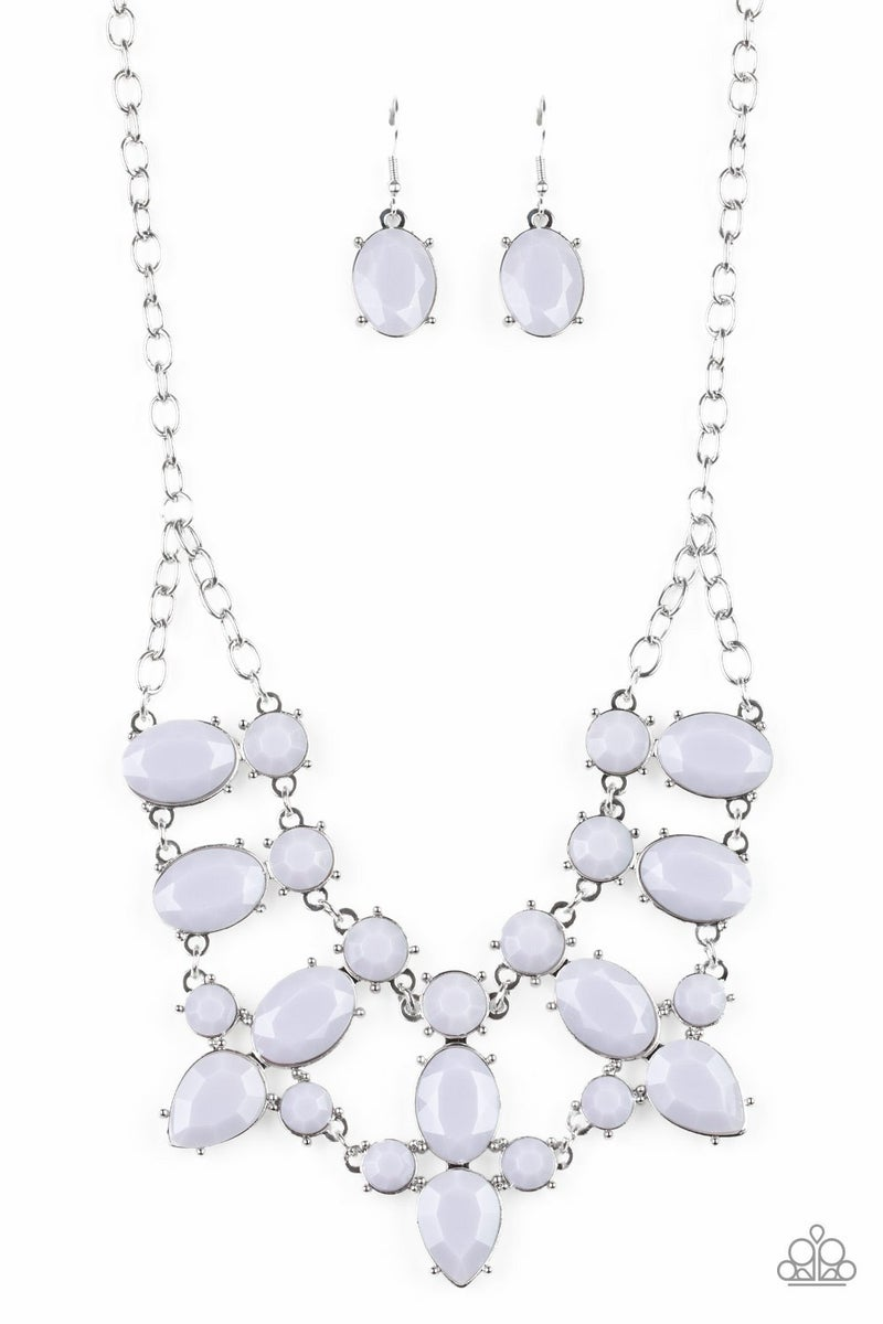 Goddess Glow - Silver Necklace