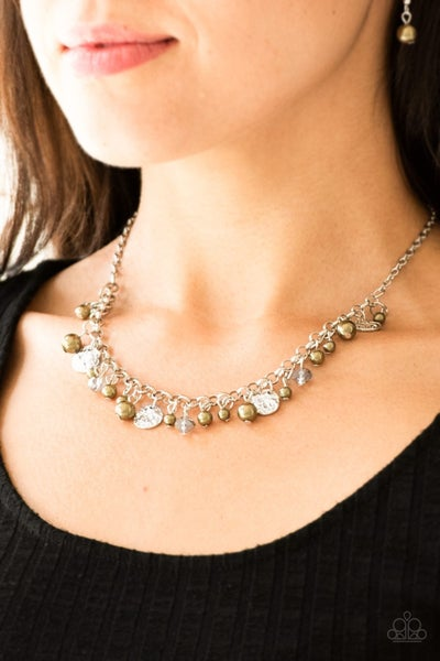 Coastal Cache - Green Necklace