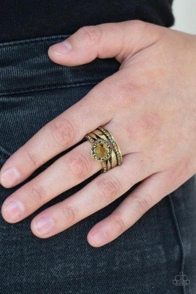 Modern Maven - Brass Ring