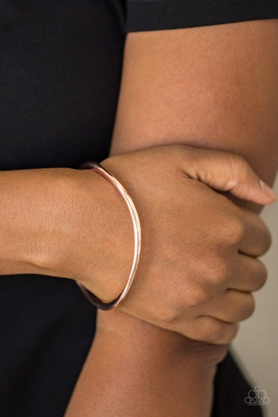 Awesomely Asymmetrical - Rose Gold Bangles