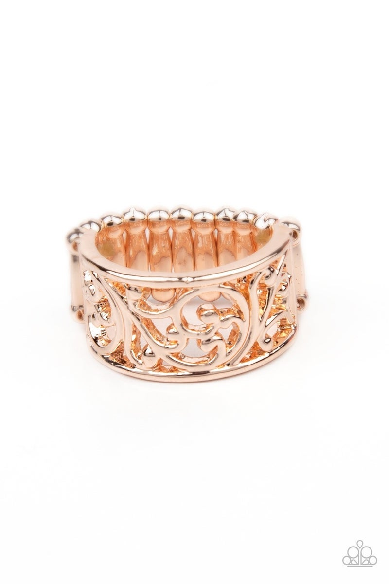 Di-VINE Design - Rose Gold Ring