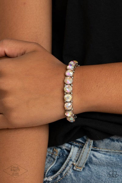 Sugar-Coated Sparkle - Multi Stretchy Bracelet