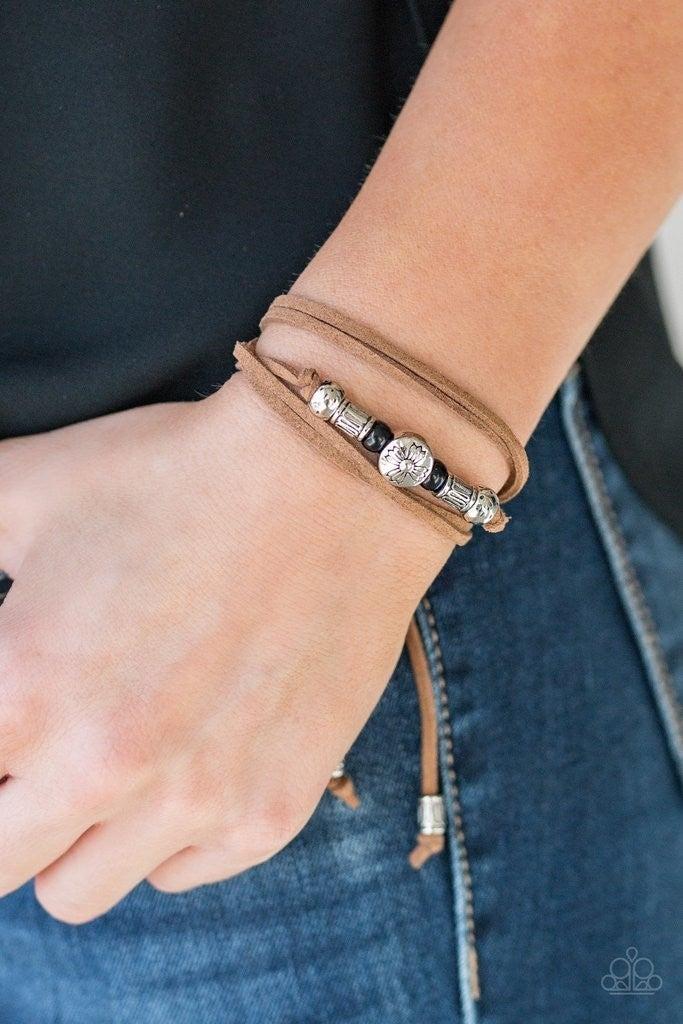 Find Your Way - Black Bracelet
