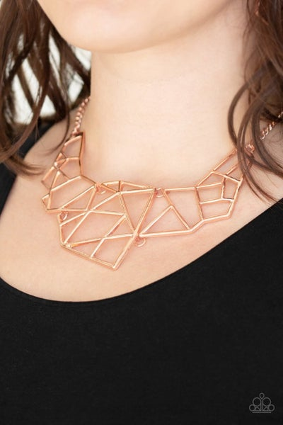 World Shattering - Copper Necklace