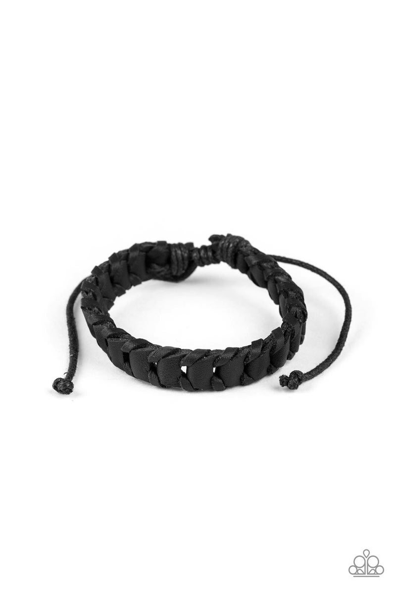 Grit and Grease - Black Urban Bracelet