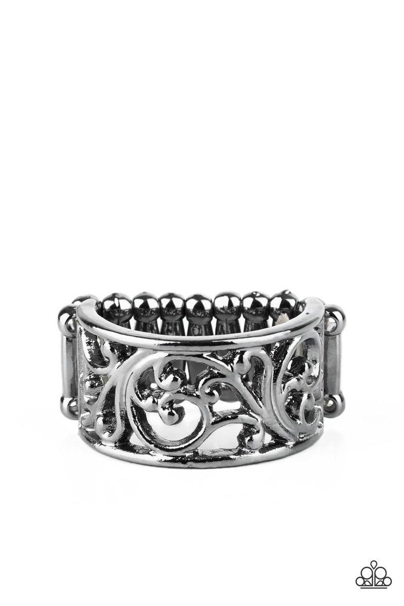 Di-VINE Design - Gunmetal Ring