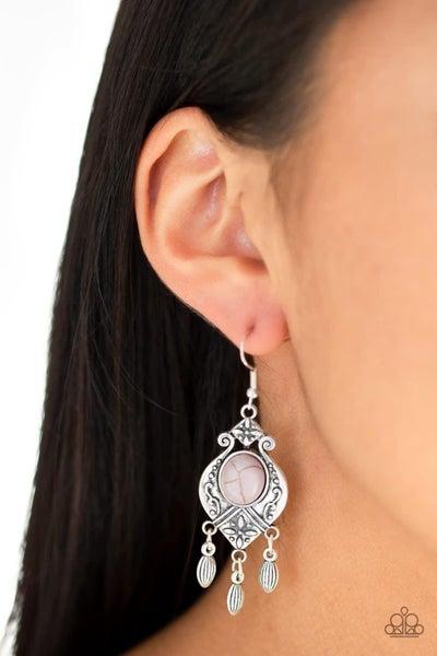Enchantingly Environmentalist - Silver Earring